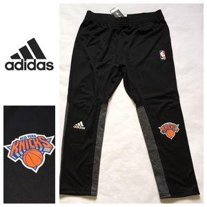 NWT! Adidas NBA NY Knicks Basketball Sweats XL